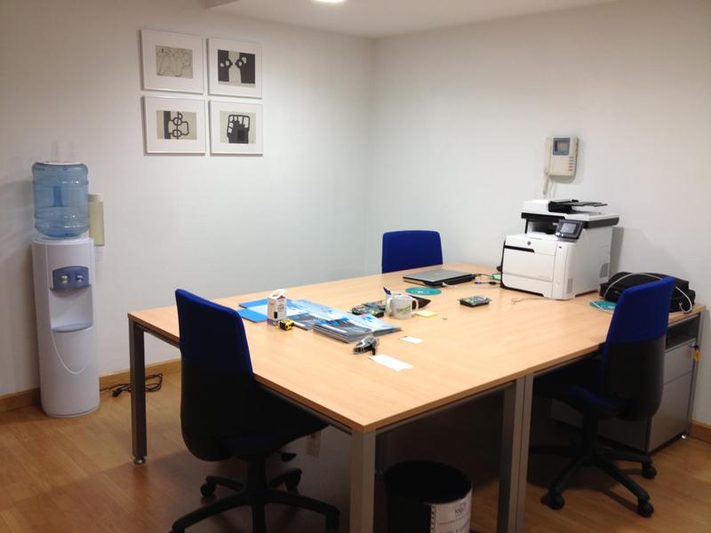 Oficina de las nuevas instalaciones de toqi toqi for Tecnica de oficina wikipedia